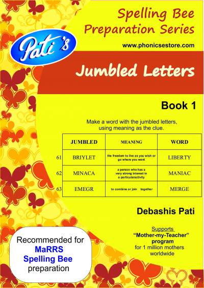 marrs spellbee jumbled letters