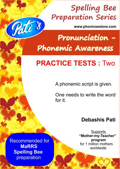 marrs spellbee pronunciation phonemic awareness practice questions
