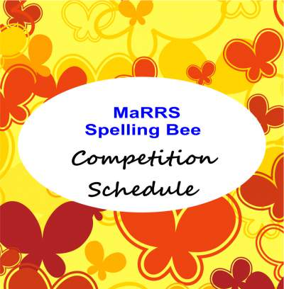 marrs spellbee schedule