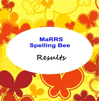 marrs spellbee results